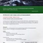 Flyer Konfliktmanagement S.1